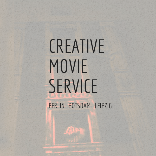 WEBDESIGN FÜR CREATIVE MOVIE SERVICE BERLIN